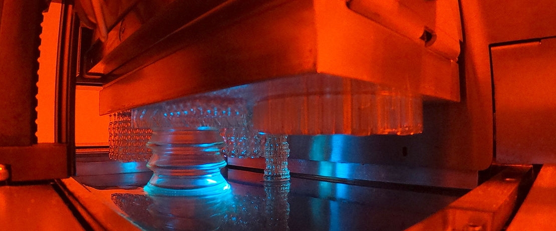 Hot Lithography generates objects from a shapeless fluid at higher processing temperatures. Picture: ©Cubicure GmbH